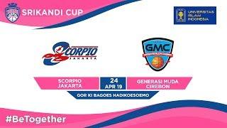 LIVE - Scorpio Jakarta vs GMC Cirebon UII-Playoffs Srikandi Cup 2019 - Group Stages