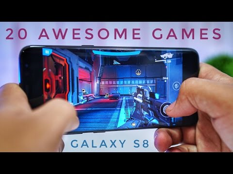 20 GAMES I PLAY ON MY GALAXY S8
