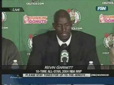 Boston Celtics - Kevin Garnett