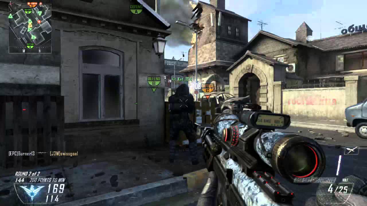 Sniper Skulls Camo With The Dsr Skull Camo