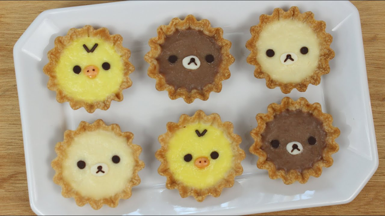How To Make Rilakkuma Tarts Youtube