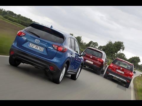 Mazda CX-5, Skoda Yeti, VW Tiguan - Die Suff-Klasse