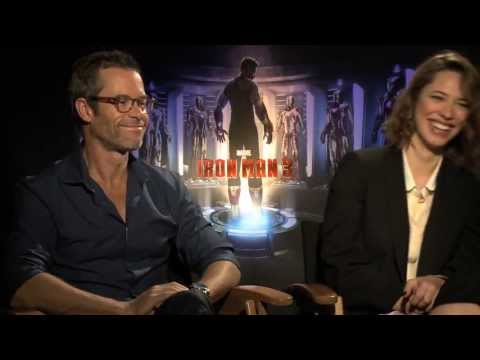 Guy Pearce & Rebecca Hall talk Iron Man 3