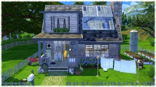 The Sims 4: Speed Build //  OFF THE GRID + CC Links