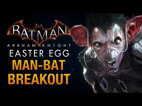 Batman: Arkham Knight Easter Egg - Man-Bat's Halloween Escape