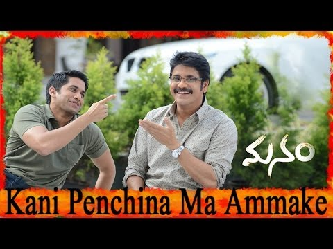 Kani Penchina Ma Ammake Full Song ll Manam Movie Songs ll Akkineni Nageswara Rao, Nagarjuna