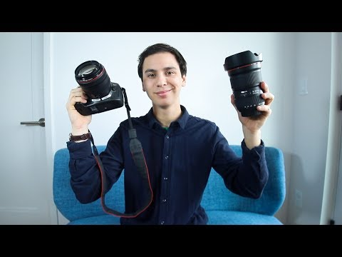 HUGE CANON UNBOXING (5DSR, 16-35mm f2.8 + more!)