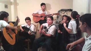 "Rondalla Colegio Americano del Pacifico ""Sweet Child O´mine"""