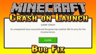 Minecraft Crash on Launch Fix   Minecraft Resolution Fix