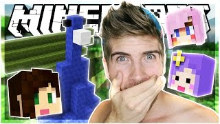 HILARIOUS PEACOCKS?! | BUILD BATTLE w/ STACY, TIFFANY AND LIZZIE! | Minecraft