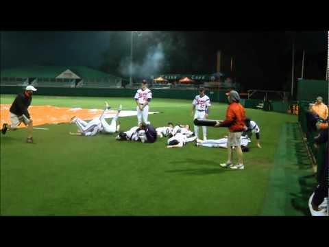 Clemson Baseball vs Davidson Rain Delay Bowling