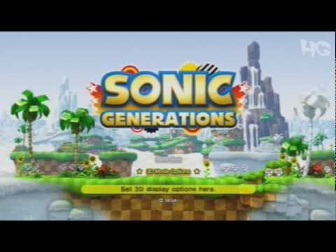 Demo - Sonic Generations (Dia de Demo)