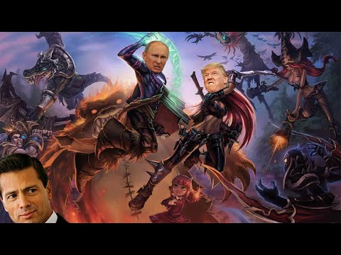 ¡TRUMP juega con PEÑA NIETO a LEAGUE OF LEGENDS! | League of Legends