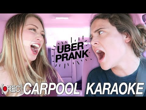 CARPOOL KARAOKE | Hidden Camera Uber Pranks | AYYDUBS