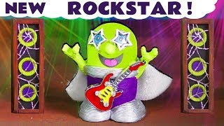 New Funny Rockstar Funling Talent Show with McQueen and Hulk - A Fun story for kids