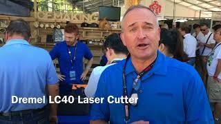Dremel LC40 Laser Cutter - Sneak Peak - MFNY17