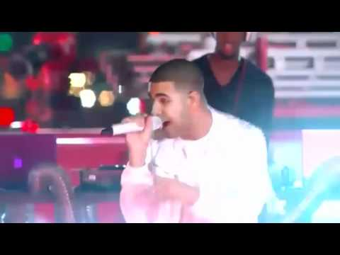 Drake Ft Lil Wayne The Motto Live FIGHT Chris Brown Rihanna Enough Said Lyrics The Real Her VMA AMA