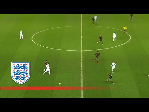 England U21s' 35-pass, 11-player move v Germany | Goals & Highlights