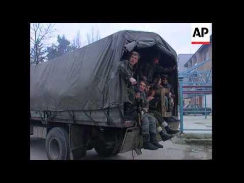 Bosnia - Muslims Praise NATO Attack