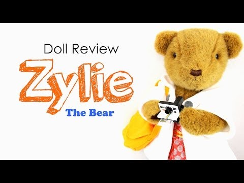 Doll Review: Zylie the Bear   Plus