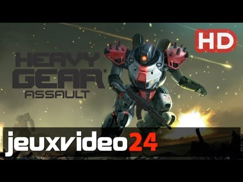 Heavy Gear Assault - Kickstarter Launch Video HD (PC)