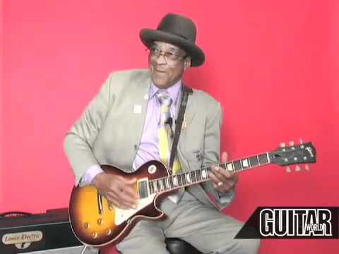 Hubert Sumlin Blues Lesson