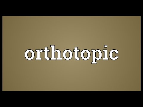 Header of Orthotopic