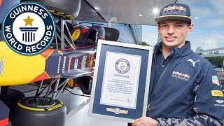 Max Verstappen: How I became the youngest driver to win a Formula One race - Guinness World Records