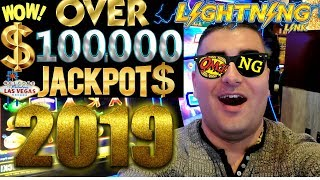 Over $100,000 Handpay Jackpots On Slot Machines -Lighting Link Slot Up To $125 A Spin & Buffalo Slot