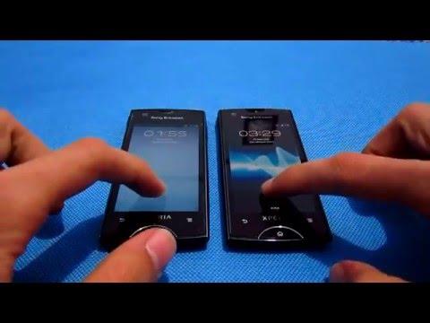 Sony Ericsson Two Xperia Ray Cyanogen Mod 10 :)