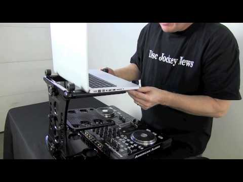 Ultimate Support Hyperstation Laptop Stand Review: by John Young of the Disc Jockey News
