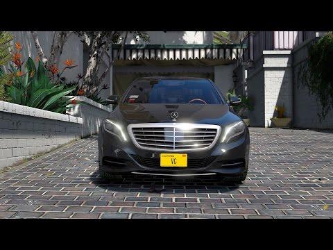 Grand Theft Auto V Mercedes Benz (S500) Review