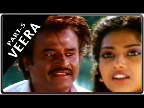 Veera Movie Part 5 || Starring Rajnikanth, Meena, Roja video