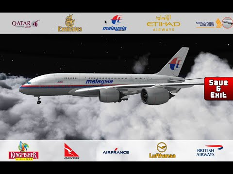 Flight 787 - Advanced - Airbus A380-[SINGAPOR Airlines-MALAYSIA Airlines-LUFTHANSA-BRITISH Airways]