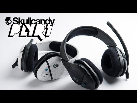 Behind the PLYR 1 Wireless Gaming Headset   Skullcandy