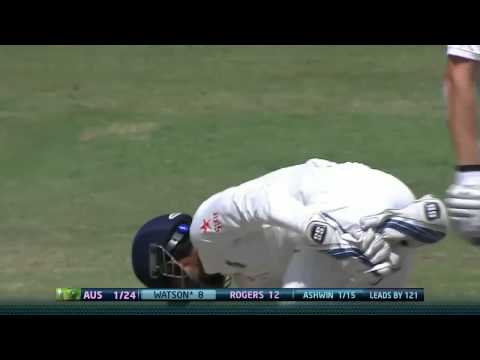 Wriddhiman Saha missed out an easy run out chance of SR Watson