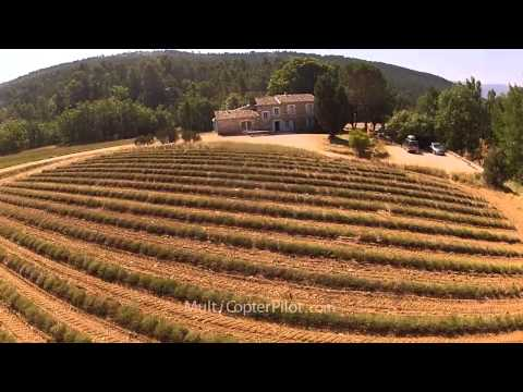 Luberon - A Paradise in the South of France / Scarab Multiwiicopter QuadOcta / FPV / GOPRO