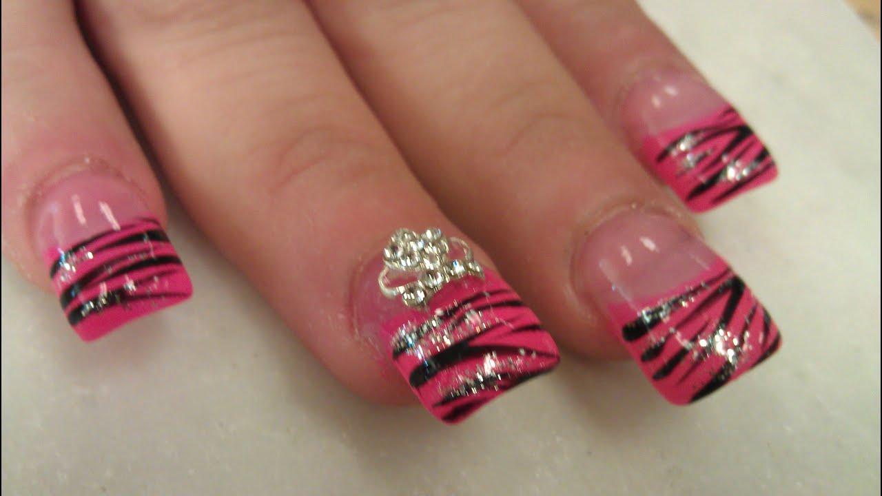 Nail designs for short bitten nails
