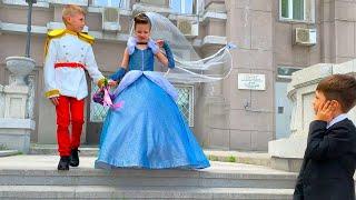 Принцесса НЕВЕСТА! Сказочная свадьба!!!
