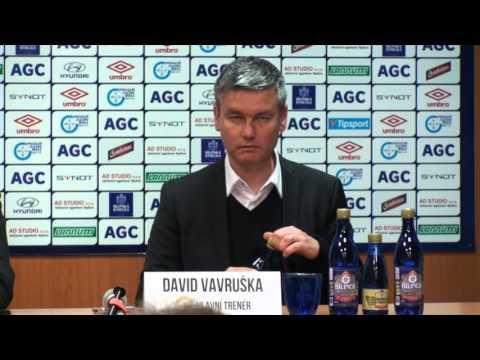 Tisková konference domácího trenéra po utkání se Spartou (1.5.2016)
