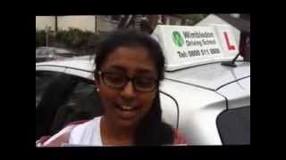 Driving School in Tooting Helped Kumuthine Sivasithamparam Pass Her Driving Test