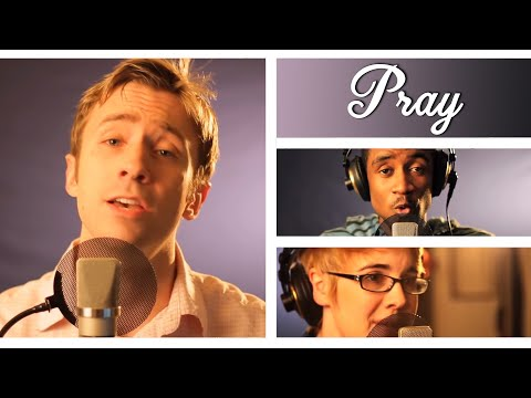 Justin Bieber - Pray - Peter Hollens Ft. Therry Thomas, Courtney Jensen video