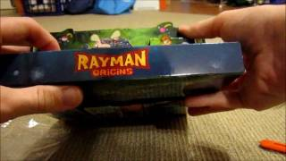 Rayman Origins Collector's Edition Unboxing