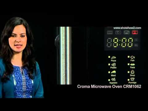 Croma Microwave Oven CRM1062 - How To do basic Grill Cooking