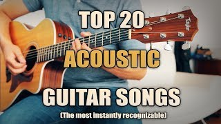 Download Lagu Top 20 Best Acoustic Songs | Intros Gratis STAFABAND