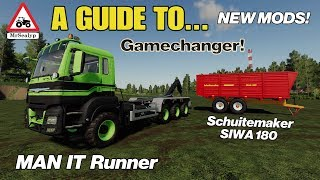 A Guide to... MAN IT Runner & Schuitemaker SIWA 180. Farming Simulator 19, PS4, Assistance!
