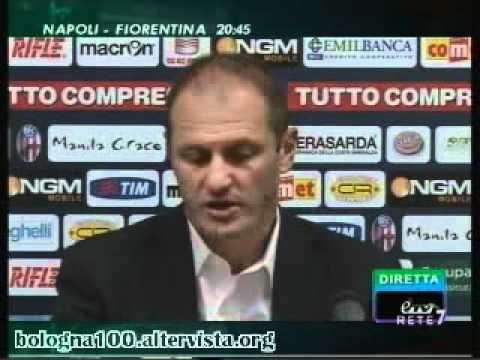 Bologna FC 1909 – Inter 1-3 24/09/2011 Diamanti e Bisoli dopo la gara