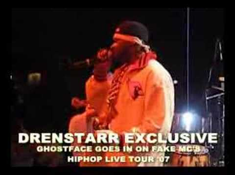GHOSTFACE KILLAH HIPHOP LIVE TOUR '07
