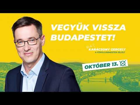 A változás Budapesten kezdődik!
