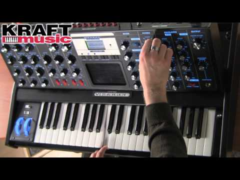 Kraft Music - Moog Minimoog Voyager Demo with Jake Widgeon